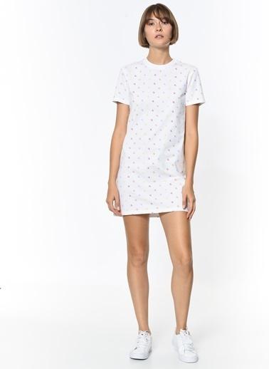 Calvin Klein Elbise Beyaz
